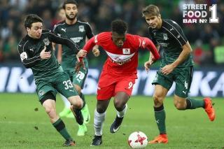 «Спартак» обыграл «Краснодар» благодаря голу Зе Луиша на 88-й минуте