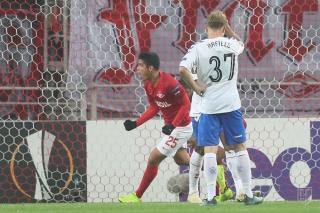 «Спартак» обыграл «Рейнджерс» в ЛЕ, трижды уступая в счёте в ходе матча