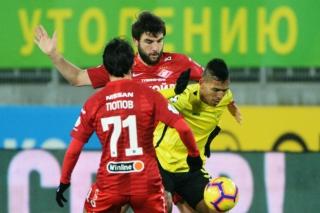 «Спартак» одержал третью победу подряд в Премьер-Лиге, разгромив «Анжи»