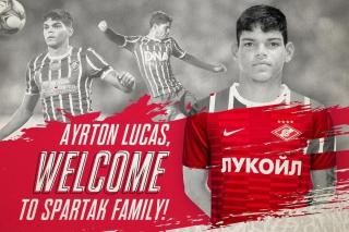 Добро пожаловать, Айртон Лукас!