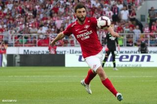 Гол Джикии принёс «Спартаку» победу в матче с «Динамо»