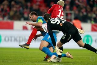 «Спартак» и «Зенит» не выявили победителя в матче РПЛ