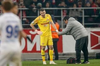 Селихов получил перелом пальца в матче с ЦСКА