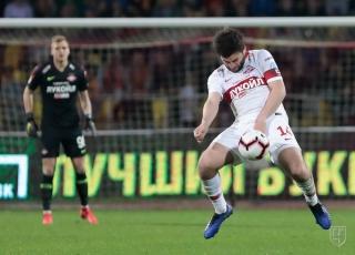 «Спартак» потерпел разгром в матче с «Арсеналом»